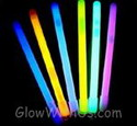 "12"" glow sticks 10 mm diameter"