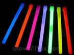 "6"" Glow Sticks 10mm"