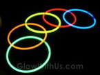 "22"" Assorted Glow Necklaces"