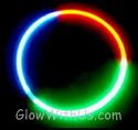 Tri-Color Glow Necklaces