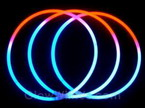 "22"" Tri-Color Red White Blue Glow Necklaces�"