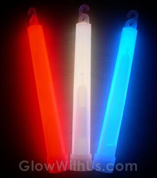 "6"" Patriotic Glow Sticks"